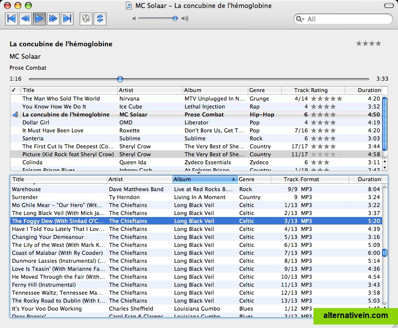 Flac library manager